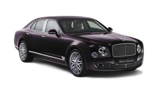Bentley Limited Edition Birkin Mulsanne (Credit: Bentley Motors)