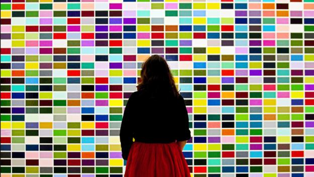 Colouring Paris contemporary (Credit: Joel Saget/AFP/Getty)