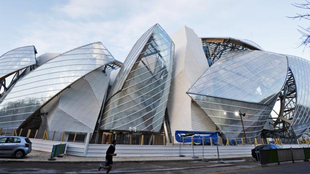 The cutting edge of architecture (Credit: AFP/Getty)