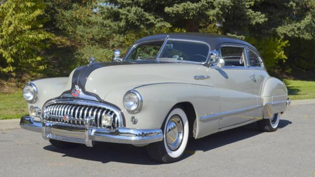 1948 Buick Roadmaster Two-Door Sedanette (Credit: Courtesy of Barrett-Jackson)