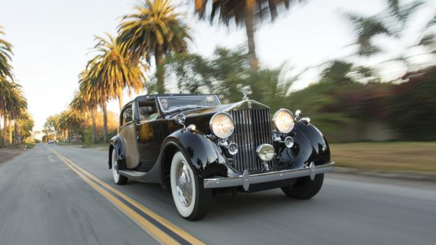 1937 Rolls-Royce Phantom III Sedanca de Ville by Park Ward (Credit: Pawel Litwinski/RM Auctions)
