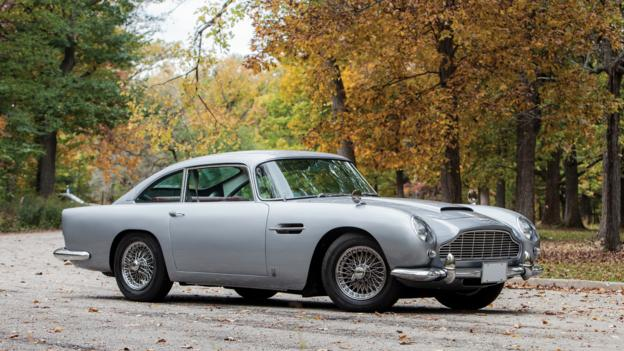 1965 Aston Martin DB5 (Credit: Jeremy Cliff/RM Auctions)