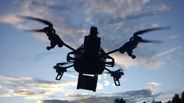 DIY drone (Credit: AR)