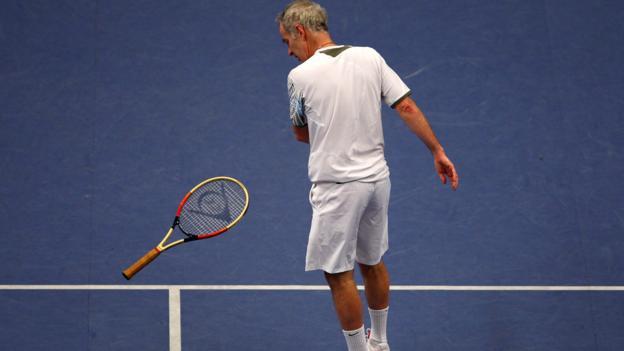 Tennis pro John McEnroe (Julian Finney/Getty)