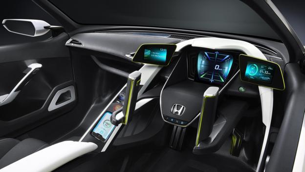 Stick shift (Credit: American Honda Motor)