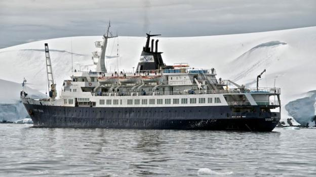How can a 100-m long cruise ship like the Lyubov Orlova just disappear? (Julian Ranger)