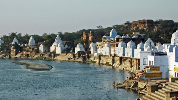 Temples of Bateshwar (Credit: Chambal Safari Lodge)