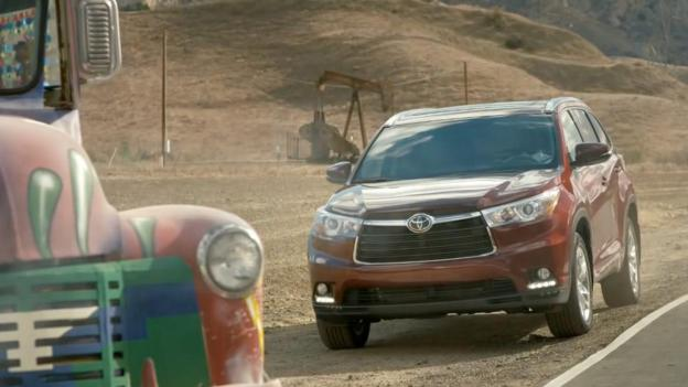 Toyota Highlander (Credit: Toyota Motor Sales)