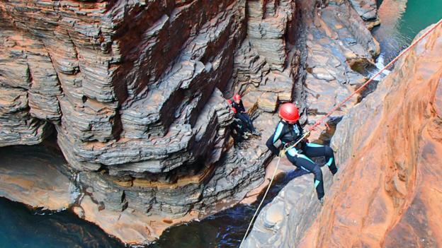 Canyoning Karijini (Credit: West Oz Active)