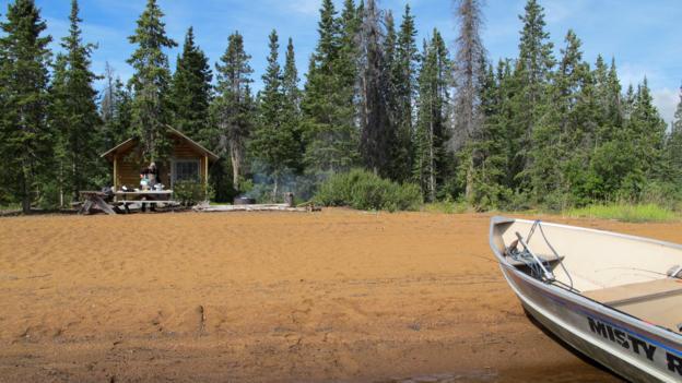 Beached in the Yukon (Credit: Tim Johnson)