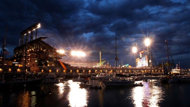 AT&T Park, a catalyst for the area's revitalisation (Credit: Christian Petersen/Getty)