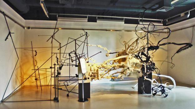 An installation at Erarta, Russia's largest museum of contemporary art (Credit: Anna Kaminski)