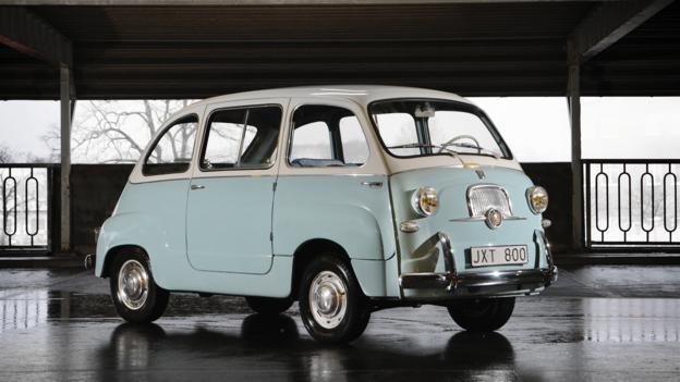 1957 Fiat 600 Multipla (Credit: Otis Clay/RM Auctions)