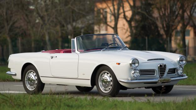 1962 Alfa Romeo 2600 Spider by Touring (Credit: Cymon Taylor/RM Auctions)