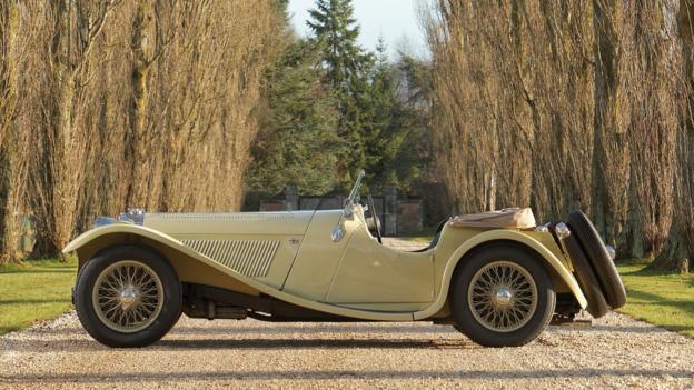 1937 SS 100 Jaguar 2½-Litre Roadster (Credit: Bernard Canonne/RM Auctions)