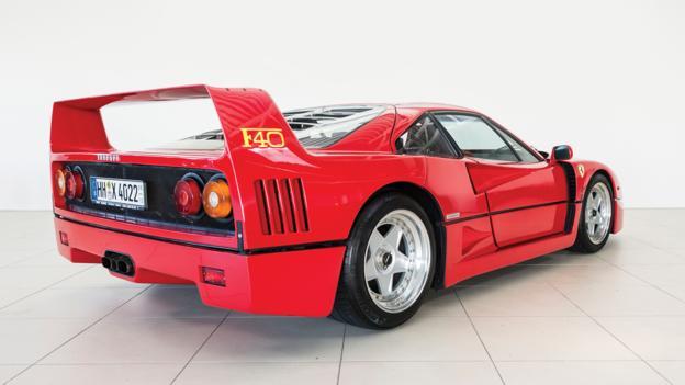 1990 Ferrari F40 (Credit: Lars Neumann/RM Auctions)