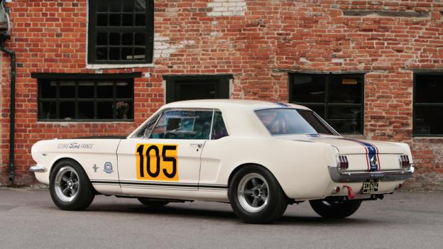 1965 Ford Mustang 289 Racing Car (Credit: Courtesy of RM Auctions)