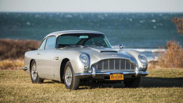 1965 Aston Martin DB5 (Credit: Courtesy of Bonhams)