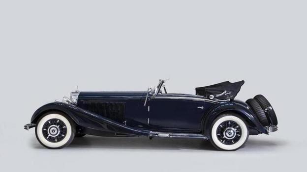 1935 Mercedes-Benz 500 K Cabriolet A (Credit: Courtesy of Bonhams)