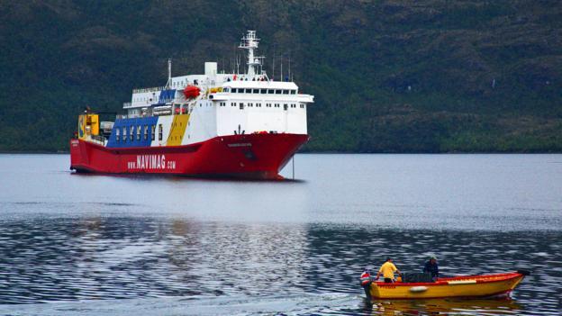 At anchor off Puerto Eden (Credit: Gabi Mocatta)