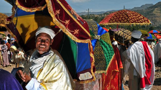 Plan your trip around festivals, like Timkat in Lalibela, Ethiopia (Credit: Carl De Souza/AFP/Getty)