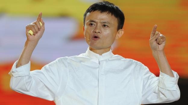 Jack Ma, founder of online empire Alibaba (Getty)