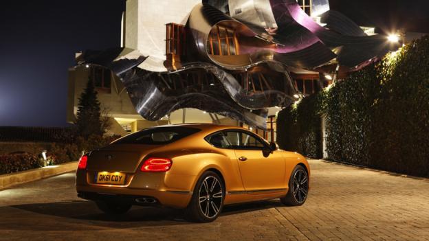 Bentley Continental GT V8 (Credit: Bentley Motors)