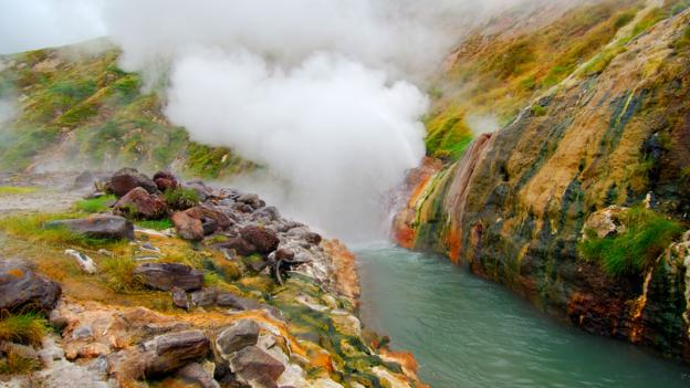 The colourful (and well-conserved) banks of the Geyser River (Credit: Igor Shpilenok)