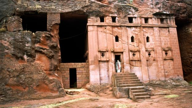 Abba Libanos, one of Lalibela's rock-cut churches (Credit: Chris Bradley/Getty)