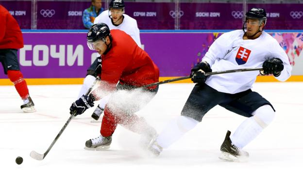 Competition is fierce--even among teammates--in Sochi.  (Martin Rose/Getty Images)