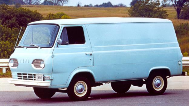 1961 Ford Econoline (Credit: Ford Motor)