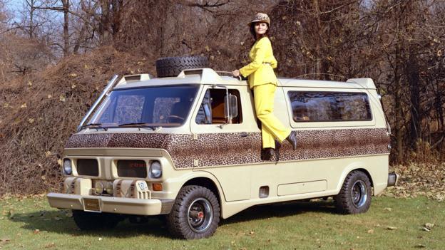 1969 Ford Econoline Kilimanjaro Concept Van (Credit: Ford Motor)