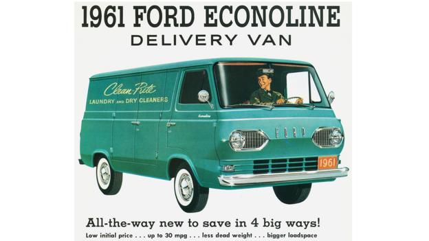 1961 Ford Econoline Delivery Van (Credit: Ford Motor)