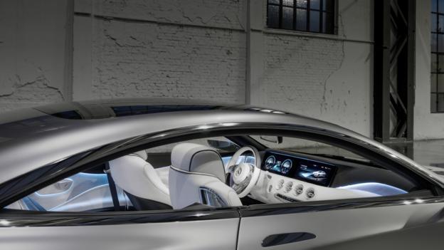 Mercedes-Benz Concept S-Class Coupe (Credit: Mercedes-Benz USA)