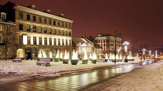 Old Montreal's Place Jacques Cartier (Credit: Tony Tremblay/Getty)