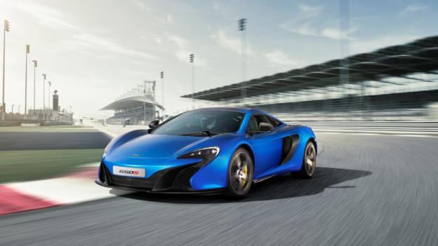 McLaren 650S Coupé (Credit: McLaren Automotive, via Newspress)