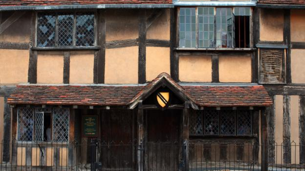 Birthplace of the Bard (Credit: Christopher Furlong/Getty)