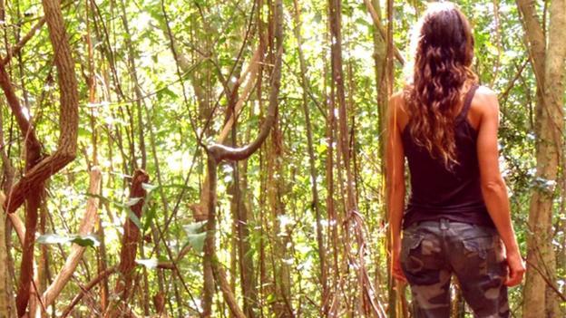 Wilderness survival school instructor, Carmen Corradino. (Matt Carradino)