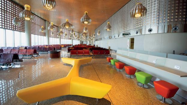 A dapper departure lounge (Credit: CSIA Mumbai)
