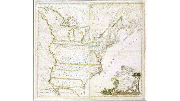 America's first map (Credit: Christie's Images Ltd)