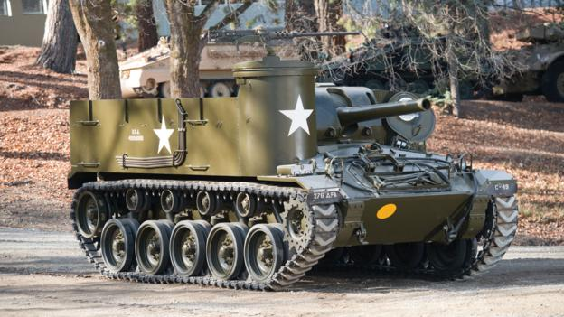 M37 105mm Howitzer Motor Carriage (United States)
