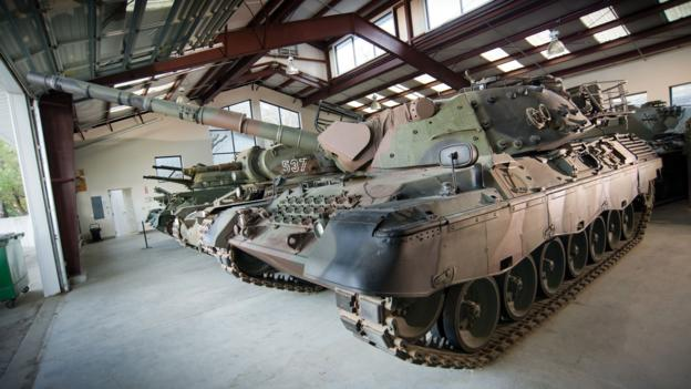 Leopard 1A1A1 Main Battle Tank (West Germany)