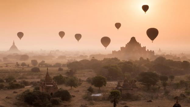 Dawn over ancient Bagan (Credit: 117 Imagery/Getty)