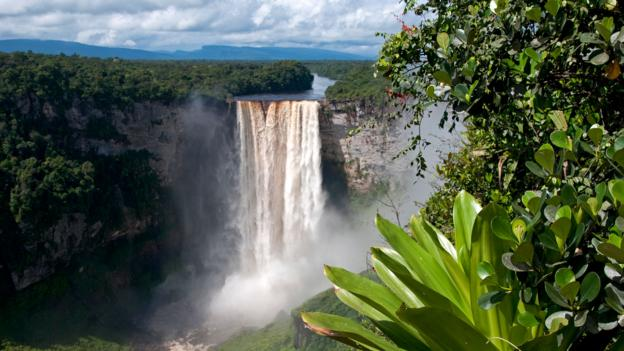 Kaieteur Falls in Kaieteur National Park, Guyana (Credit: Mick Baines and Maren Reichelt/Getty)