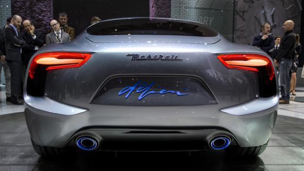 Maserati Alfieri Concept (Credit: Fabrice Coffrini/AFP/Getty)