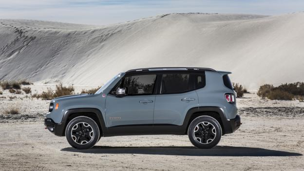 2015 Jeep Renegade Trailhawk (Credit: Chrysler Group)