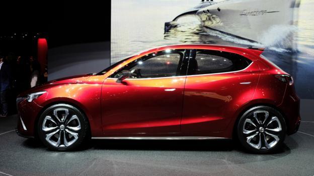 Mazda Hazumi Concept (Credit: Newspress)