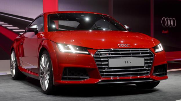 2015 Audi TTS (Credit: Fabrice Coffrini/AFP/Getty Images)