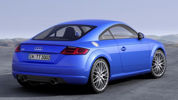 2015 Audi TT (Credit: Audi)