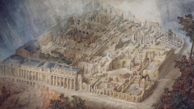 Financial collapse (Credit: Sir John Soane's Museum, London)